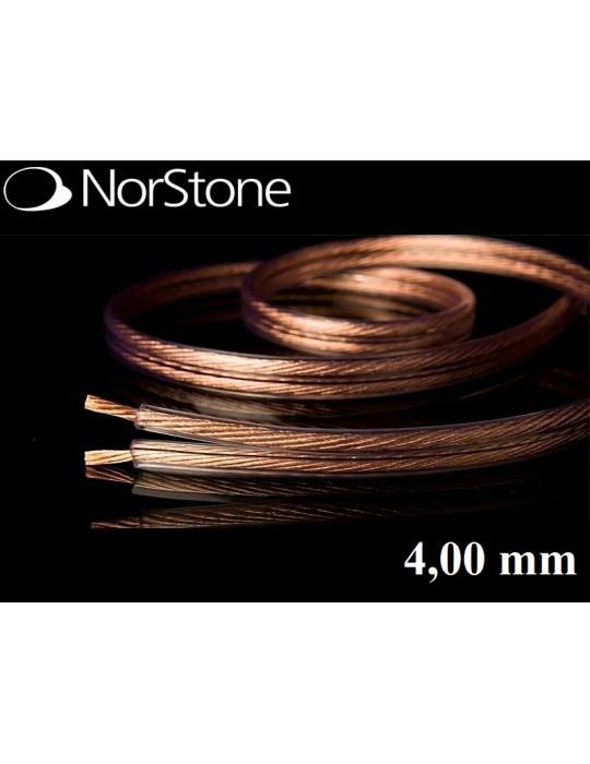 NORSTONE CL 400 CAVO ALTOPARLANTI BIPOLARE 2 x 4.00mmq PREZZO A ML