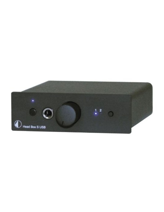 PRO-JECT HEAD BOX S USB NERO AMPLIFICATORE PER CUFFIE GARANZIA ITALIA