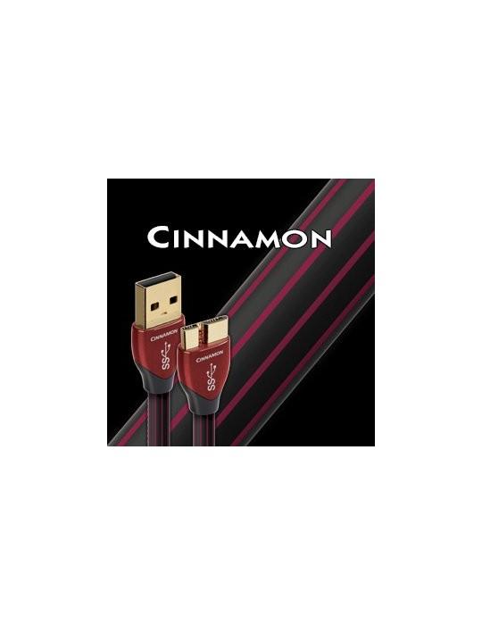 AUDIOQUEST CINNAMON USB 3.0 DA 0,75 MT CAVO SILVER 1.25%