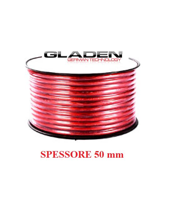 GLADEN C_PL 10mm RED CAVO ALIMENTAZIONE IN RAME PURO PREZZO A ML