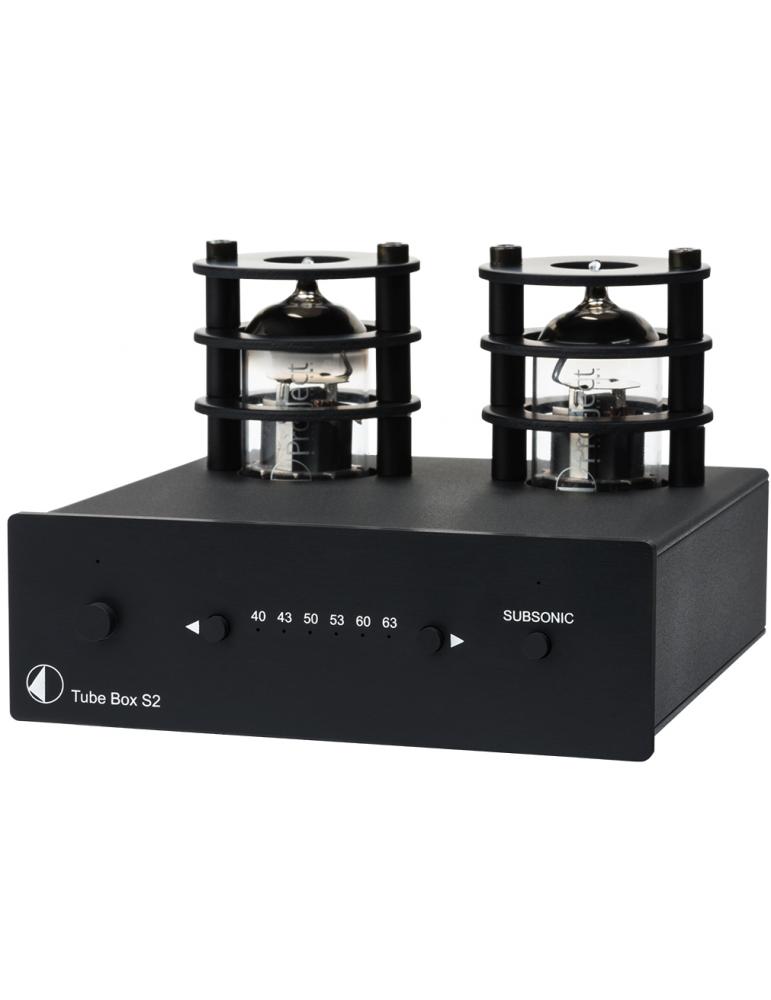 Denon DL-304 Pro-ject-tube-box-s2-nero-stadio-phono-mm-mc-valvolare-nuovo-garanzia-italia
