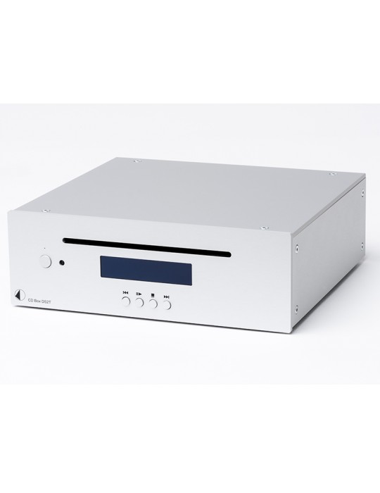PRO-JECT CD Box DS2 T NERO MECCANICA USCITA DIGITALI NUOVA GARANZIA ITALIA