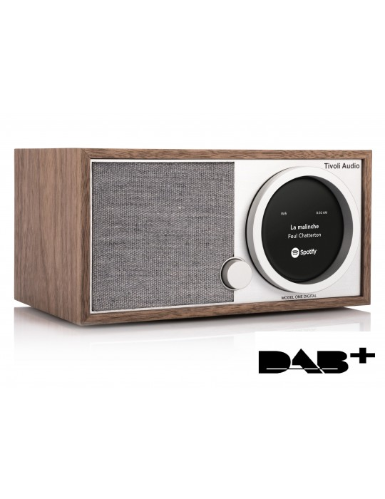 TIVOLI AUDIO MODEL ONE DIGITAL WALNUT RADIO FM CON BT NUOVA GARANZIA ITALIA