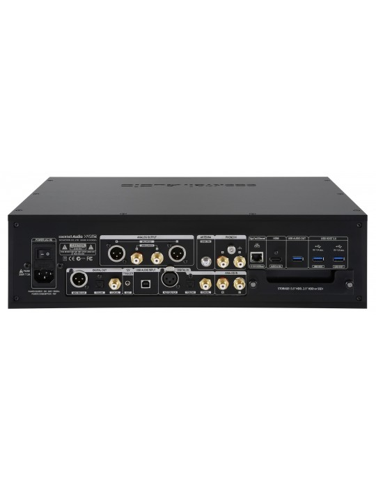 COCKTAIL AUDIO X45 PRO NERO MUSIC SERVER & DAC DI RIFERIMENTO NUOVO GARANZIA ITALIA