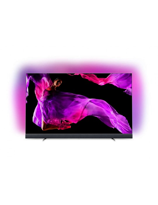 """PHILIPS TV OLED 903 ANDROID 65"""" ULTRA SOTTILE 4K UHD CON AMBILIGHT NUOVO"""