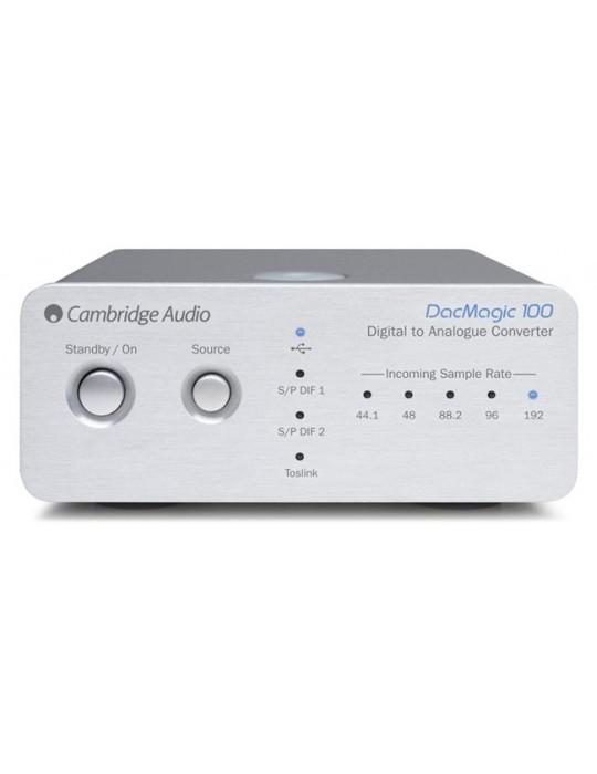 CAMBRIDGE AUDIO DAC MAGIC 100 SILVER CONVERTITORE USB WOLFSON GA